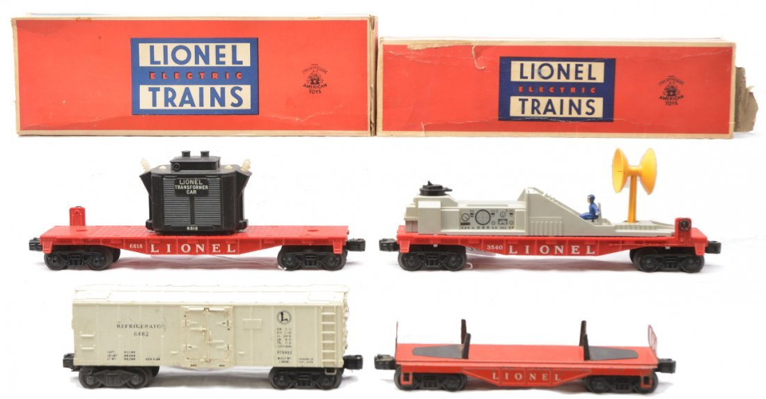 60: Lionel Freights 3540 6818 OBs 6121 6482