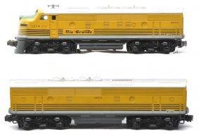 Lionel 2379 Rio Grande F3 AB Diesel Units