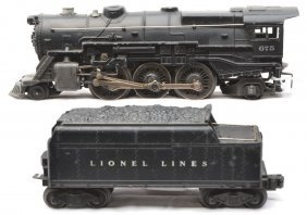 Lionel 675 Steam Loco 6466W Tender