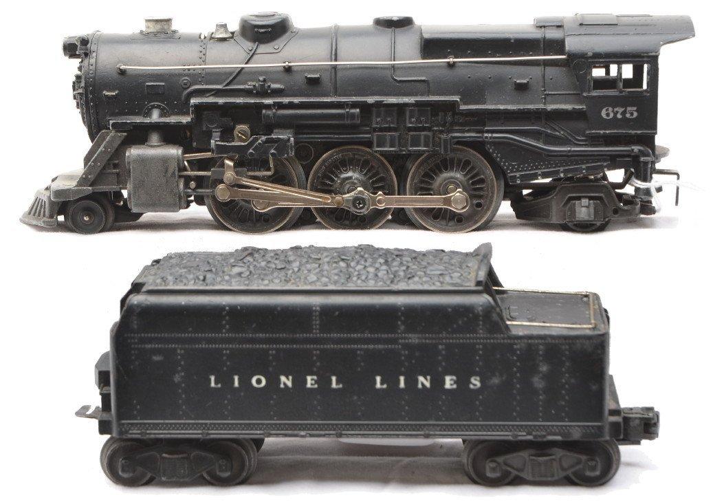 66: Lionel 675 Steam Loco 6466W Tender