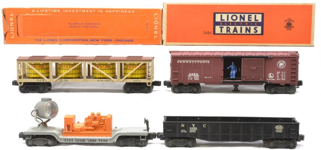 69: Lionel freights 6475 3484 OBs 6462 6520