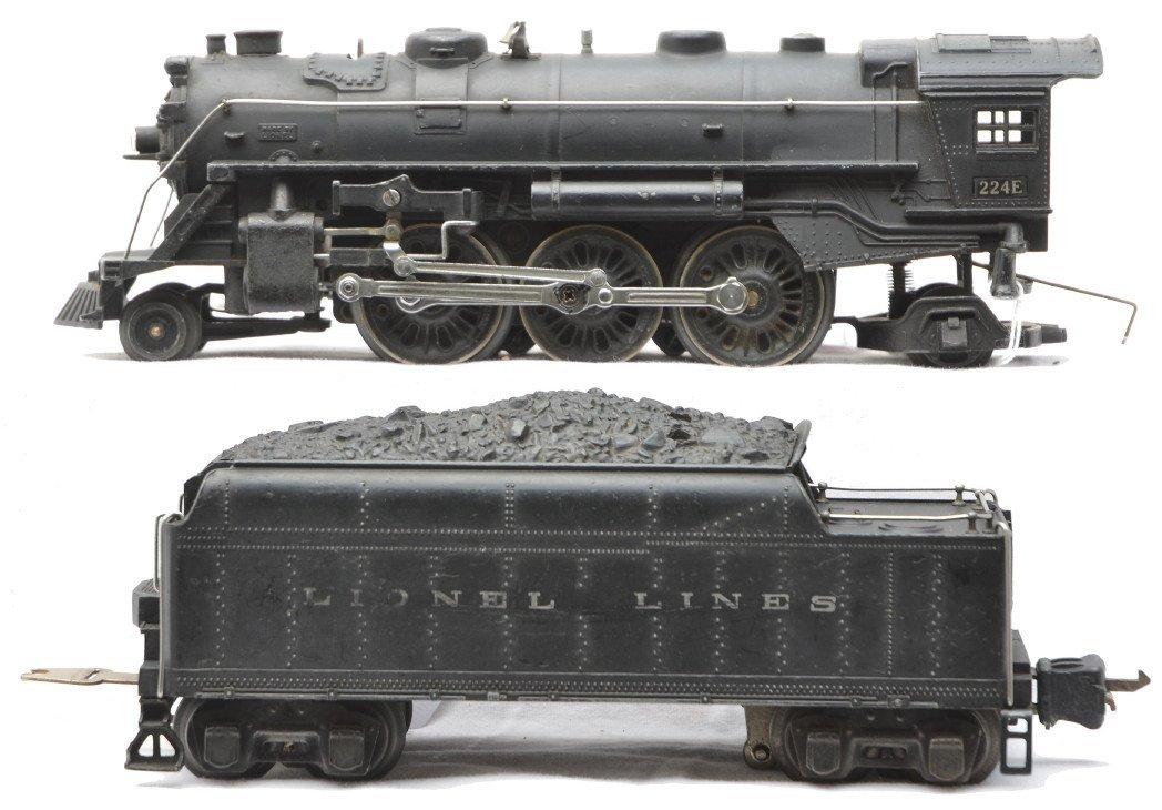 77: Lionel 224E Steam Loco 2224W Tender