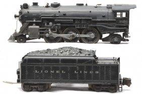 Lionel 225E Black Steam Loco 2224W Tender