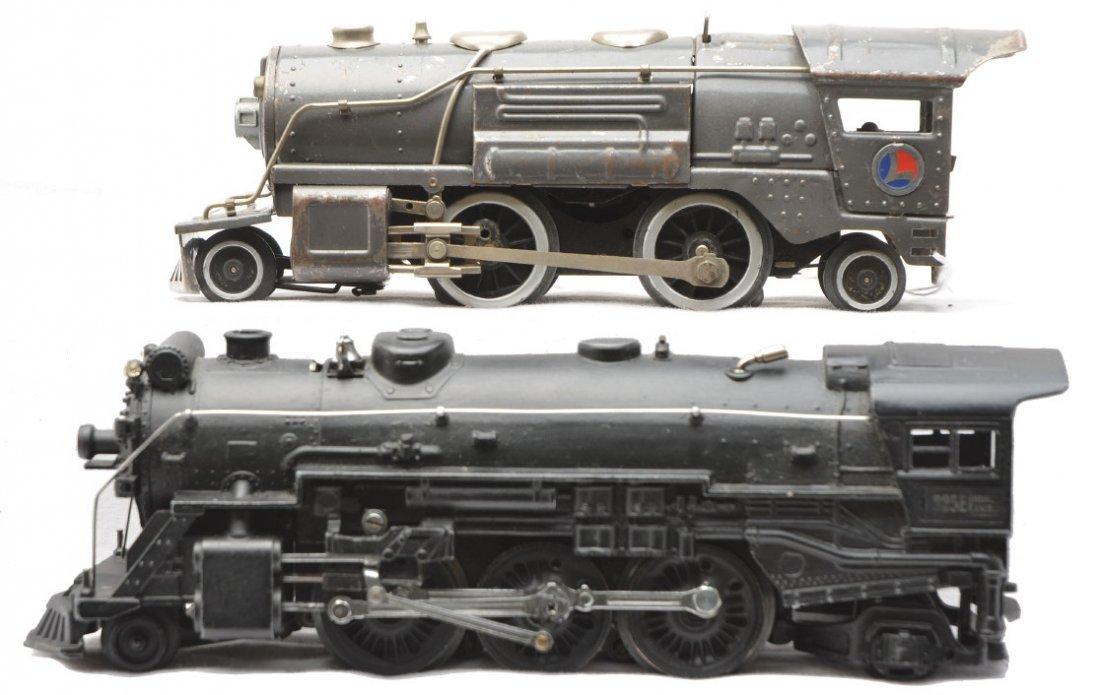 80: Lionel 259E Gunmetal Loco 225E Black Loco