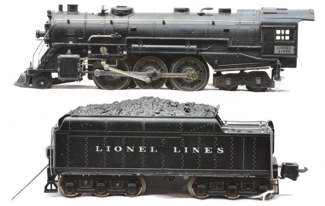 84: Scarce Lionel 226 Loco w/Nickel Plates 2226W