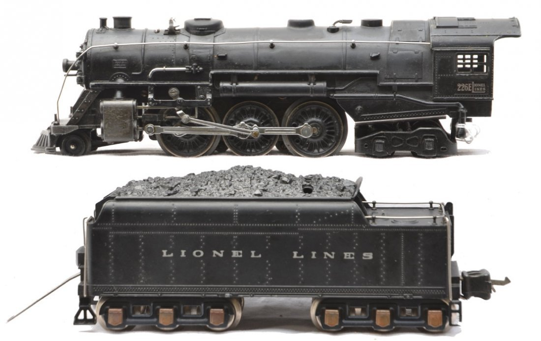 93: Lionel Prewar 226E Steam Loco 2226W Tender