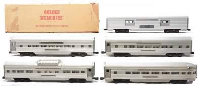 151: Lionel Aluminum Pass Cars 2534 2534 2532 2531