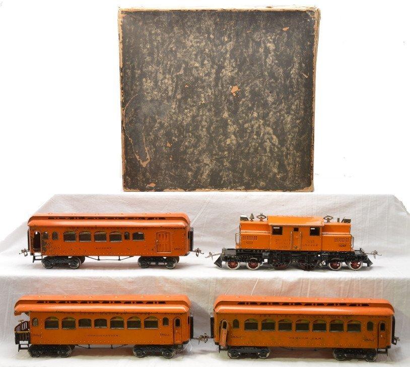 480: Ives Orange Pass Set 704 3243 187-1 188-1 189-1 - 2