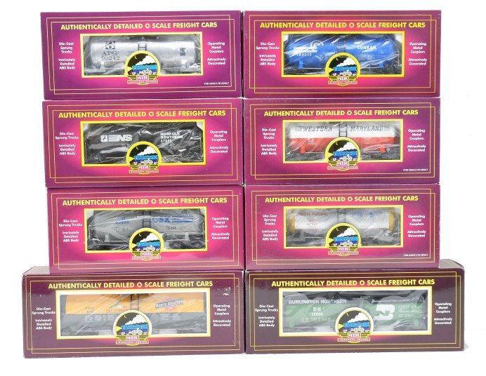 625: MTH Selection of Tank Cars LIKE NEW Boxed