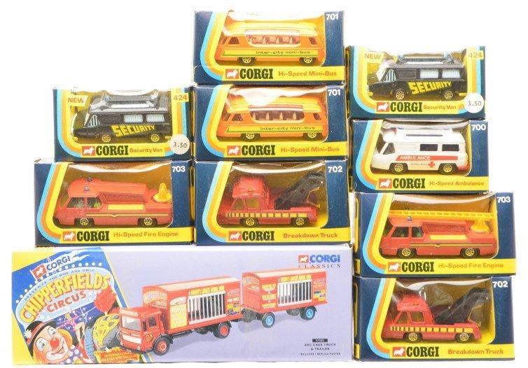 707: Corgi 424 700 701 702 703 Classic 97889 MINT OBs
