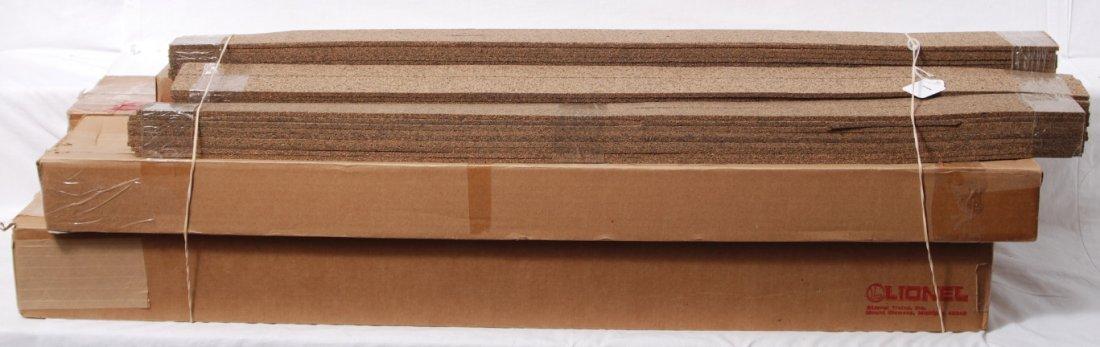 1: N scale cork roadbed and track