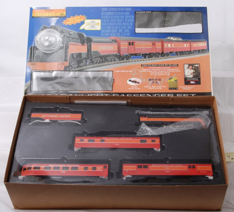 4: Rail king 30-4039-0 Southern Pacific Daylight set