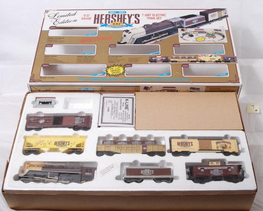 7: K Line 1401 Hershey Chocolate train set