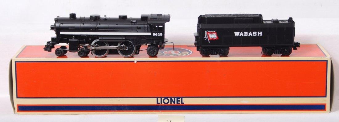 11: Lionel 28625 Wabash 4-4-2 steam locomotive