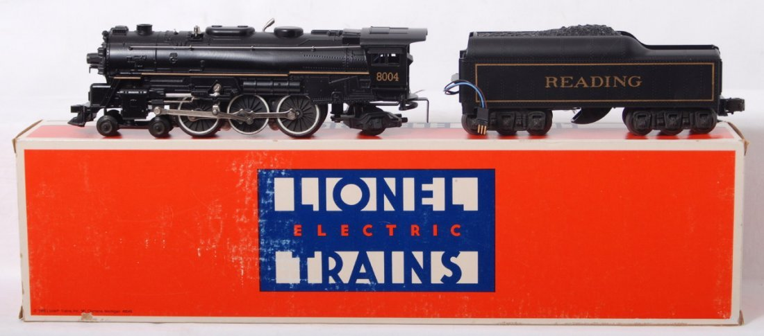 12: Lionel Reading 18004 4-6-2 steam loco