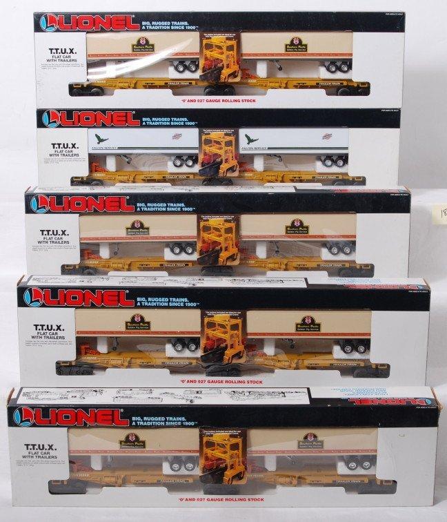 18: 5 Lionel TTUX sets 16345 and 16334