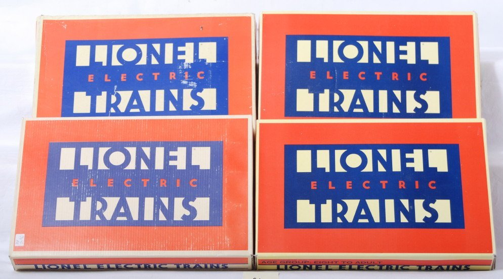 24: 4 Lionel right and left hand switches 5132 5133