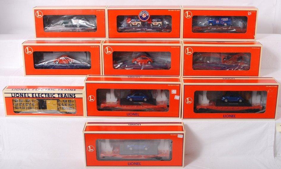 73: 10 Lionel freight cars 19483, 19444, 26039, etc