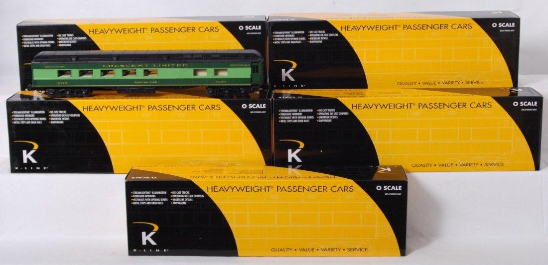 77: K Line Southern Crescent 6 car passenger set