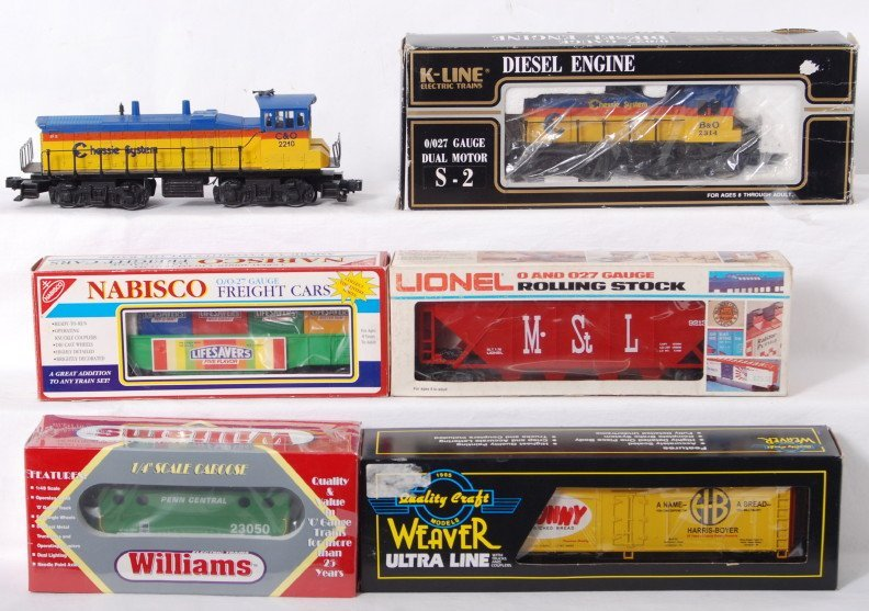 81: K Line locos and cars