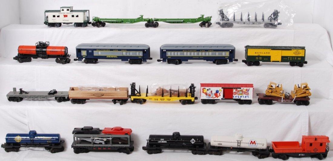 85: 17 O gauge freight cars