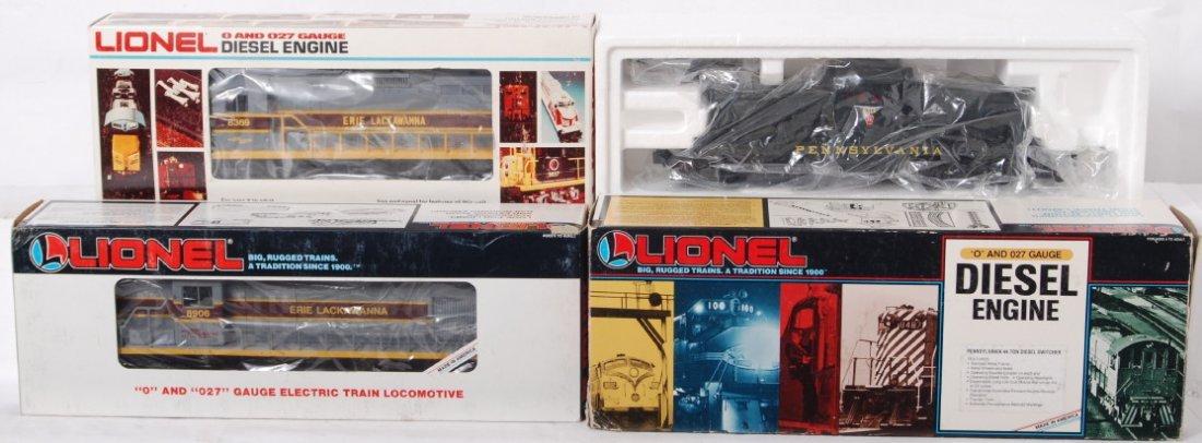 88: 3 Lionel diesel locomotives 8369, 18905, 18906