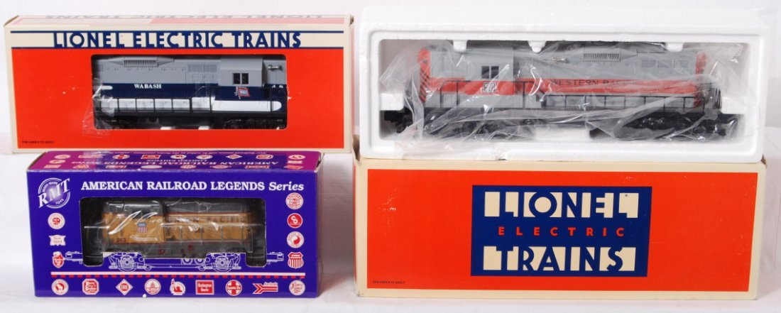 89: Lionel and RMT diesel locomotives 18820, 4171, 8567