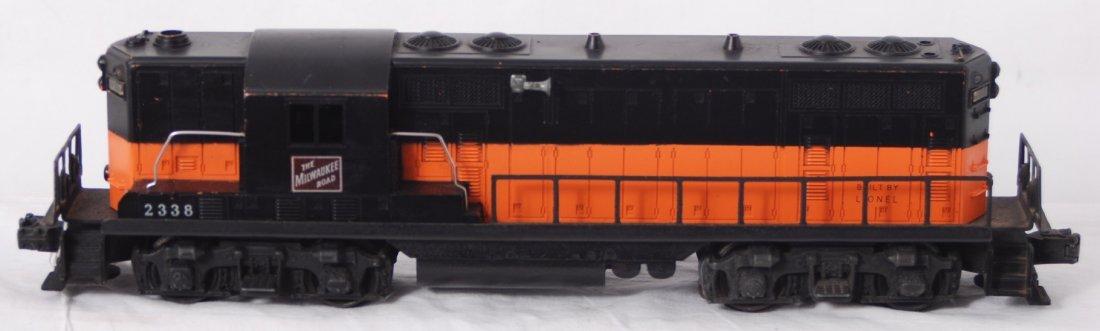 117: Lionel 2338 The Milwaukee Road GP diesel locomotiv