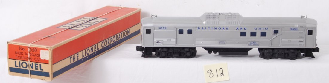 812: Lionel 2550 Baltimore and Ohio Budd RDC-4 in OB