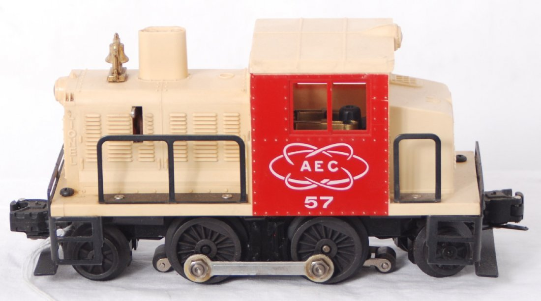 817: Lionel 57 Atomic Energy Commission diesel switcher