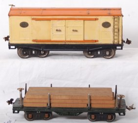 Lionel 211 And 214 Standard Gauge Freight Cars