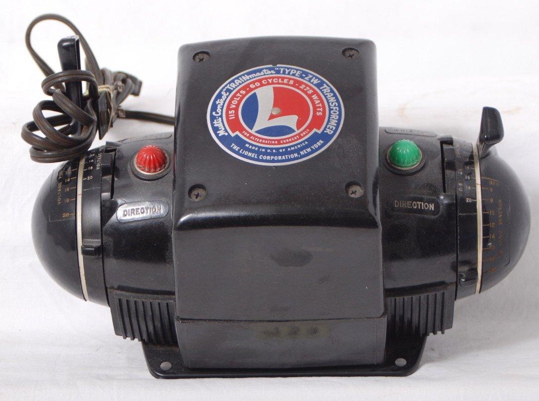 933: Lionel type ZW 275 watts transformer