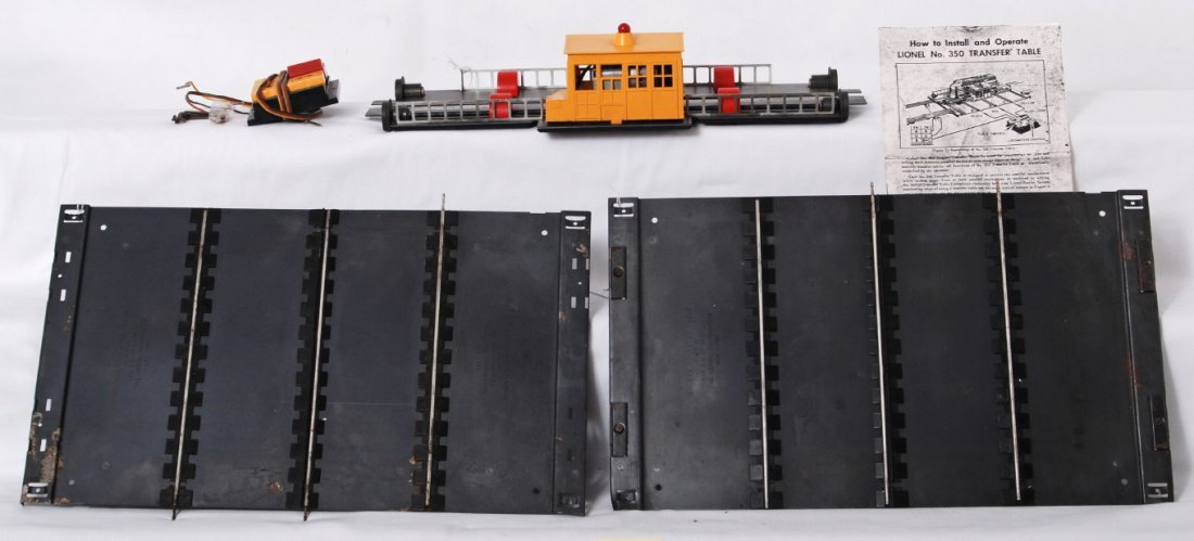1218: Lionel No. 350 transfer table with controller, 2