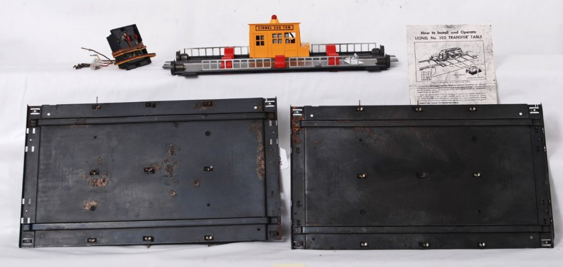 1218: Lionel No. 350 transfer table with controller, 2  - 2