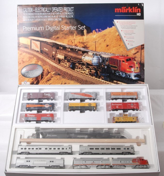 1289: Marklin HO 29849 premium digital starter set