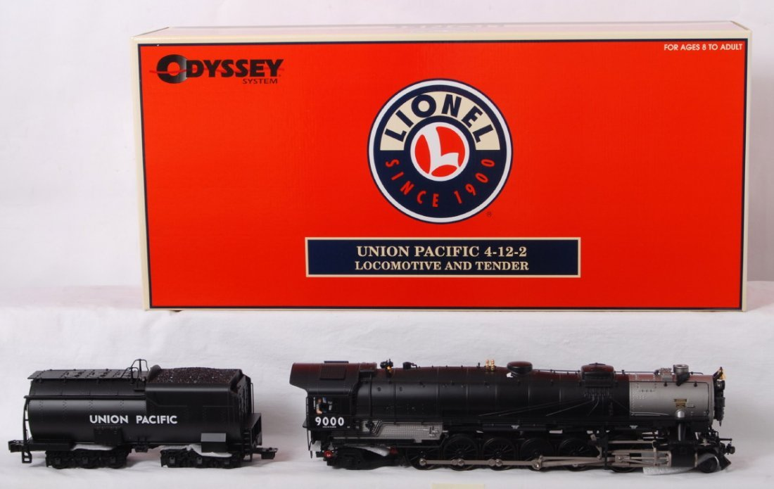 1303: Lionel Union Pacific 4-12-2 with TMCC - 2