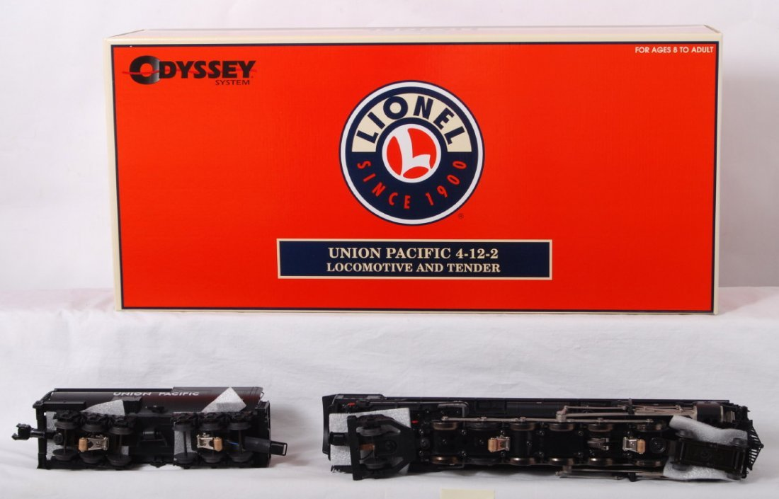 1303: Lionel Union Pacific 4-12-2 with TMCC - 3