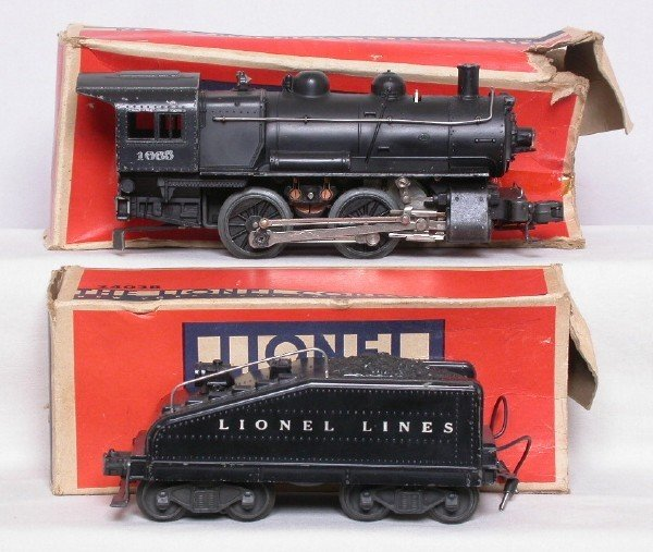 3012: Lionel 1665 0-4-0 switcher and 2403B tender