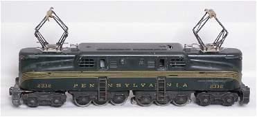 3453: Lionel 2332 green GG1, needs TLC
