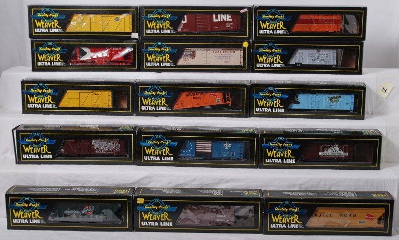 1: 15 Weaver freight cars CNW, CP Rail, etc.