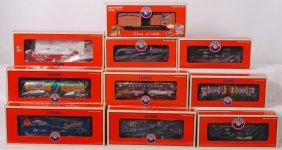 10 Lionel Club Cars 52455, 52385, 52506, Etc