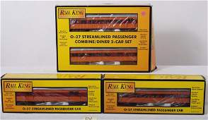 84 4 Railking Milwaukee Road passenger cars