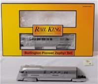 94: MTH Railking Burlington Pioneer zephyr