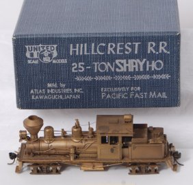 193: United HO Pacific Fast Mail Hillcrest 25 ton shay