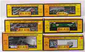 718 MTH Rail King freight cars in original boxes six