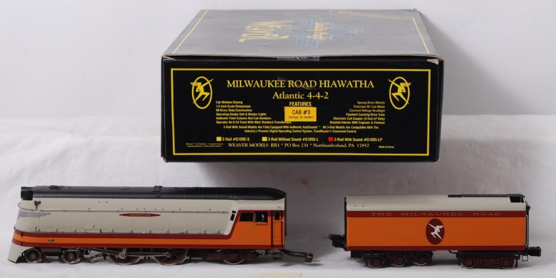 803: Weaver Milwaukee Road Hiawatha Atlantic