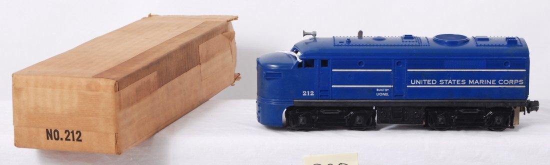 820: Lionel 212 U.S.M.C. Alco diesel A unit in OB
