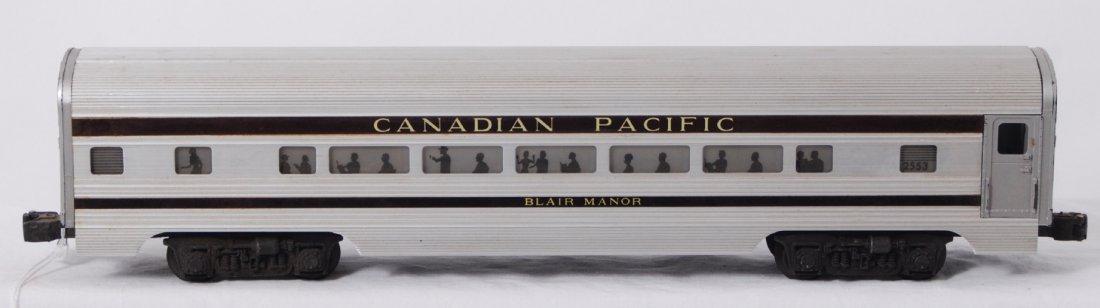 822: Lionel 2550 Canadian Pacific Blair Manor Pullman