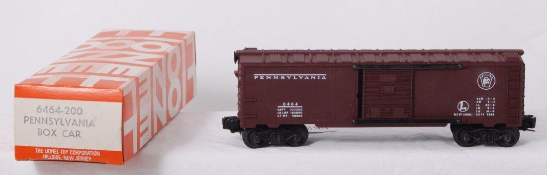 824: Lionel 6464-200 Pennsylvania boxcar in OB, unrun