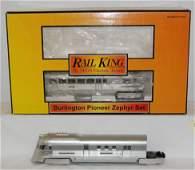 923: MTH Railking Burlington Pioneer zephyr